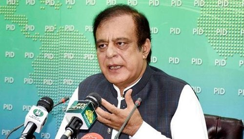 PDM only busy in holding shows which has no power: Shibli Faraz