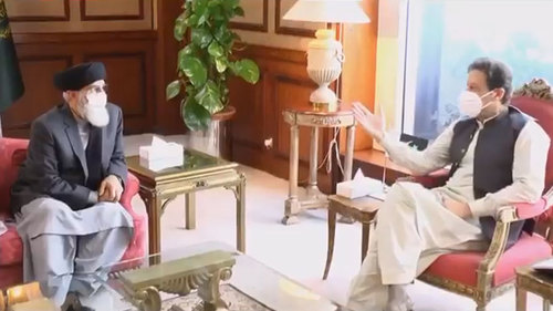 PM Imran, Hekmatyar discuss Afghan peace process