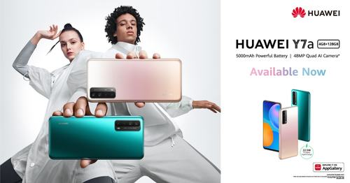 Huawei CBG unveils latest addition to the Huawei Y series