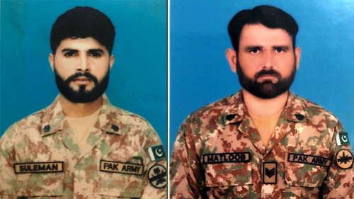 Two soldiers martyred in exchange of fire with terrorists in South Waziristan