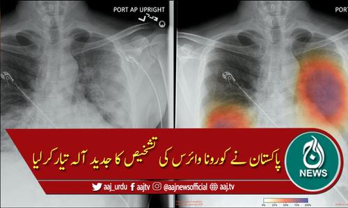 پاکستان نے کورونا وائرس کی تشخیص کا جدید آلہ تیارکرلیا