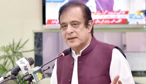No restriction on Nawaz Sharif, his sons to come to Pakistan: Shibli Faraz