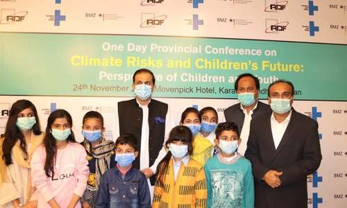 Children and youth discuss climate-induced risks to their future, express concerns