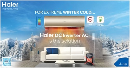 Haier DC inverter AC, Your Solution for Winters