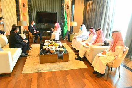 FM Qureshi, Saudi foreign minister discuss situation in Indian occupied Kashmir