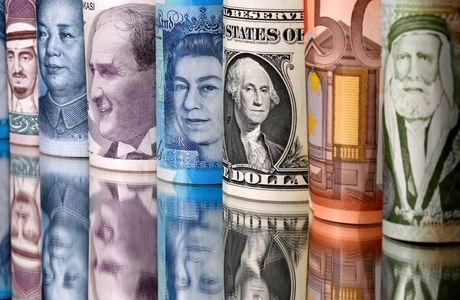 Global FOREX: Dollar rises from two-and-a-half-year lows, risk currencies retreat