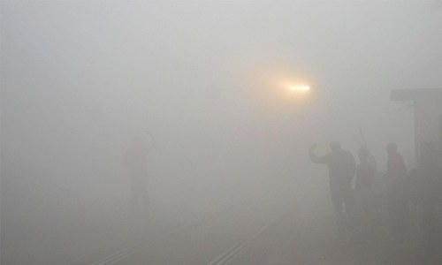 Seven injured as fog triggered pile-up on Lahore-Sialkot motorway