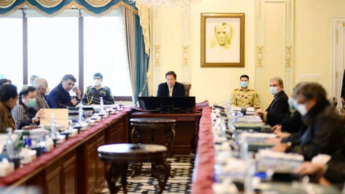 Opposition parties resorting to public meetings in order to hide their corruption: PM Imran