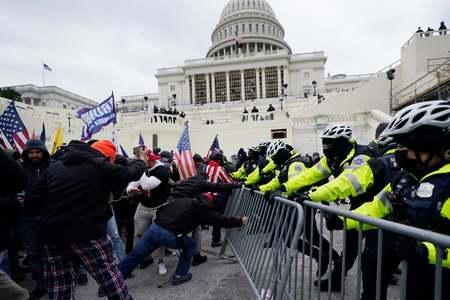 Congress resumes certification of Biden's win after Trump supporters storm U.S. Capitol
