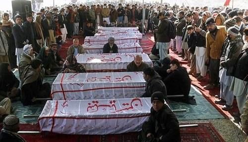 سانحہ مچھ:شہدا کی نماز جنازہ ادا،تدفین کا عمل بھی مکمل
