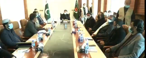 PM Khan gets briefing on Machh tragedy, Balochistan security