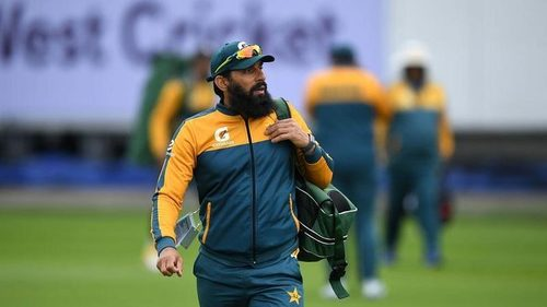 Misbahul Haq removed from the post of head coach