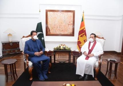 Pakistan, Sri Lanka pledge to achieve $ 1 bln bilateral trade target