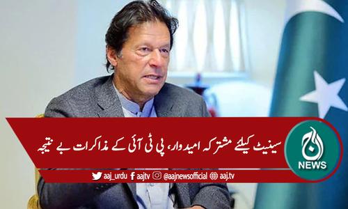 بلوچستان: سینیٹ،مشترکہ امیدوار کیلئے پی ٹی آئی کے مذاکرات بے نتیجہ