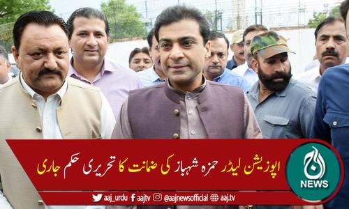 لاہورہائیکورٹ نے حمزہ شہباز کی ضمانت کا تحریری حکم جاری کر دیا