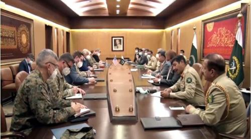 COAS, Khalilzad discuss regional security, Afghan peace process