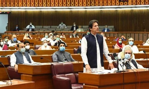 PM Imran Khan's vote of confidence in National Assembly to attract investment in Pakistan; says Bloomberg