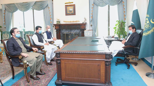 Election of Baloch, tribal leaders on Senate top slots to strengthen federation: PM