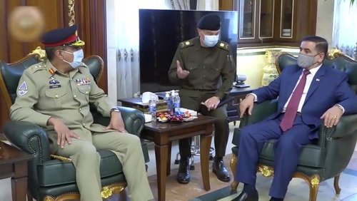 CJCSC, Iraqi defence authorities deliberate upon security, defence cooperation