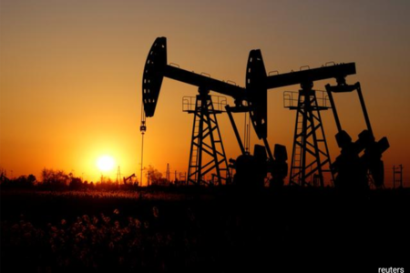 Oil prices climb on robust China data, Mideast tension