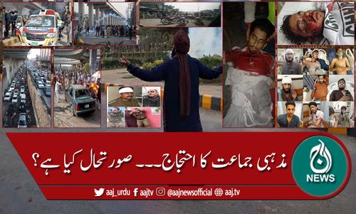 مذہبی جماعت کا احتجاج، ملک بھر میں صورتحال کشیدہ