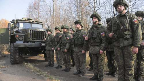 Russia orders troops back to base after buildup near Ukraine