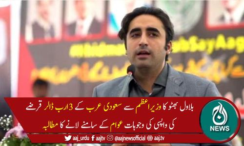 عمران خان پوری دنیا میں کشکول اٹھائے گھوم رہے ہیں، بلاول بھٹو