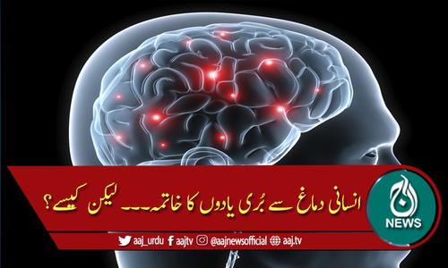 ٹیکنالوجی کے ذریعے انسانی دماغ سے ناخوشگوار یادوں کا خاتمہ