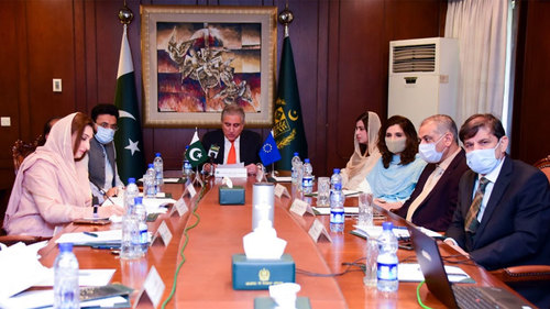 FM vows to further deepen partnership with EU