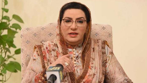 Dr. Firdous criticizes Sindh Govt for doing politics on unfortunate train accident