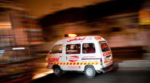 Two police officers protecting polio team gunned down in Mardan