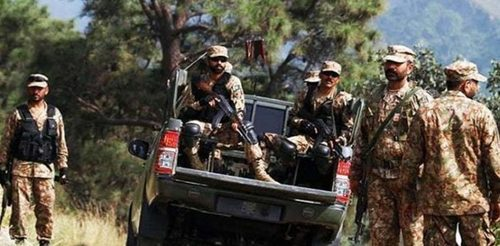 FC soldier dead, two terrorists killed in Kharan IBO: ISPR