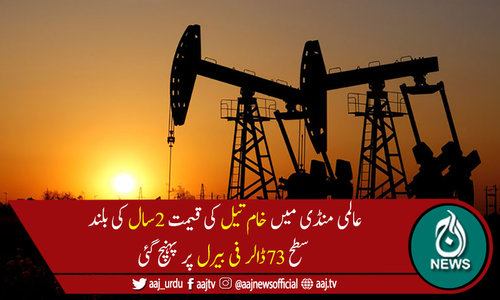 دنیا بھر میں سفری پابندیوں میں نرمی کے بعد خام تیل کی طلب میں اضافہ