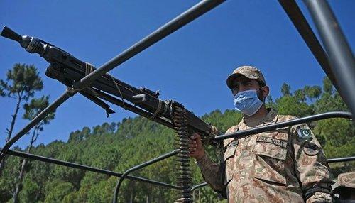 Soldier martyred in terrorist attack near Turbat airport