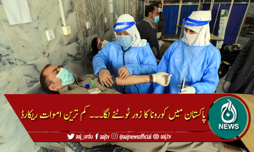 پاکستان: چوبیس گھنٹوں میں کورونا سے صرف 27 اموات