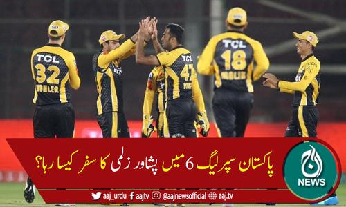 پاکستان سپر لیگ 6 میں پشاور زلمی کا سفر کیسا رہا؟