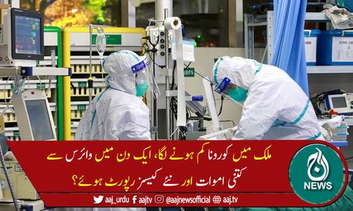 پاکستان میں کوروناوائرس سے مزید 23 اموات، 901 نئے کیسز رپورٹ
