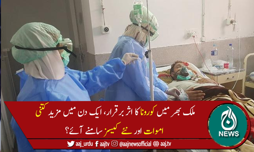 پاکستان میں آج بھی کورونا سے 40 اموات ، 1,037نئے کیسز رپورٹ