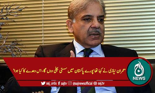 'عمران نیازی نے کہا تھا پورے پاکستان میں سستی بجلی دوں گا، اس وعدے کا کیا ہوا'