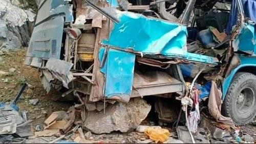 Traces of explosive found in Dasu bus blast: Fawad