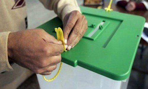 Counting underway as polling comes to an end in AJK