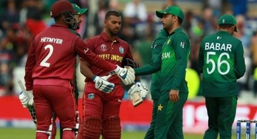 West Indies, Pakistan rearrange four-match T20 series