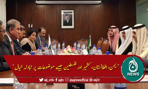 خطے کی سیکیورٹی اور استحکام کے لیے مل کر کام کرتے رہیں گے: شہزادہ فیصل بن فرحان