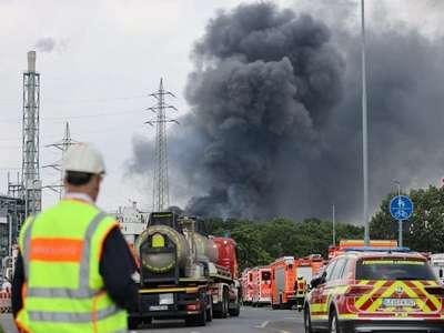 Several injured, missing after blast at German chemical site