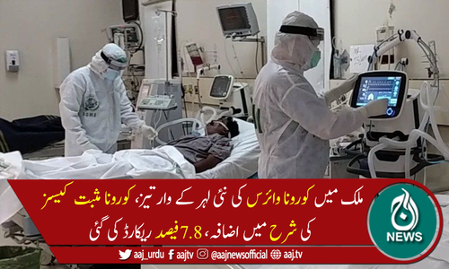 پاکستان میں کورونا وائرس سے مزید 44 اموات، 4,119 نئے کیسز رپورٹ