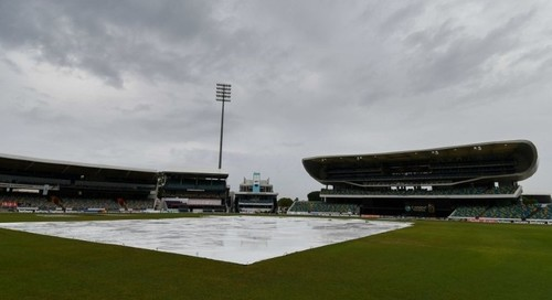West Indies, Pakistan T20 abandoned due to rain