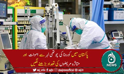 پاکستان میں24گھنٹوں میں کورونا سے مزید 76 اموات، 4,497 نئے کیسز رپورٹ