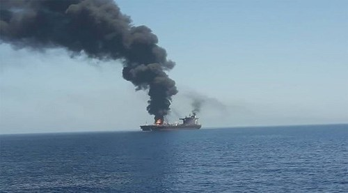 Two dead in attack on oil tanker off coast of Oman