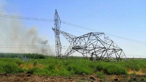 Gunmen bomb 7 power transmission towers in northern Iraq