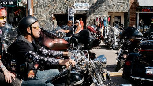 Bikers flock to giant South Dakota rally despite Covid surge